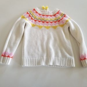 Sweater with collar detail